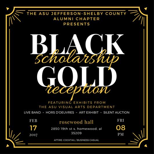 black-gold-reception-flyer